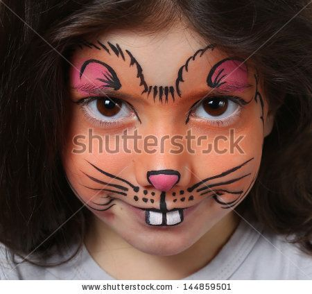 Cute kitty makeup