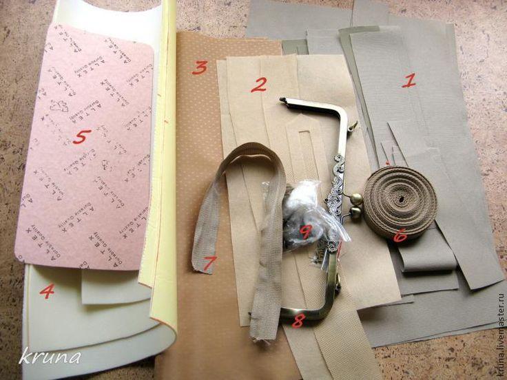 В предыдущем мастер-классе я рассказывала об особенностях построения лекал сумок с фермуаром. Это можно посмотреть здесь. В этом мастер классе я покажу каким образом можно прикрепить фермуар со стопорными винтами к сумке и особенности этой работы. И, конечно, весь мастер-класс будет посвящен изготовлению самой сумки. Ведь, что бы прикрепить фермуар к сумке, вначале нужна сама сумка.