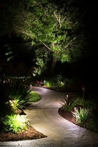 Benefits of Landscape Lighting #pathlights #landscapelighting
