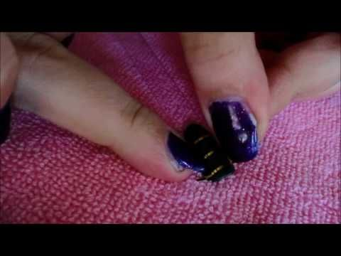 How to do Striping Tape Nail Art *Tutorial*