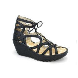 Fly London Yuke Sandal Black