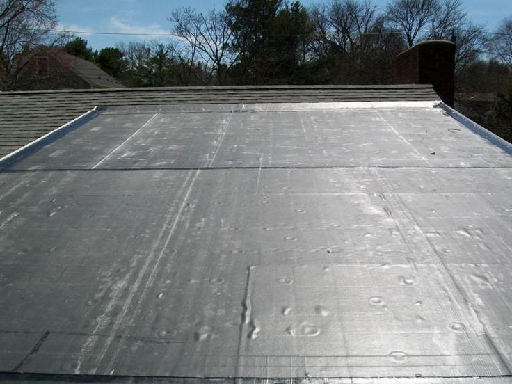 Flat Rubber Roof Materials