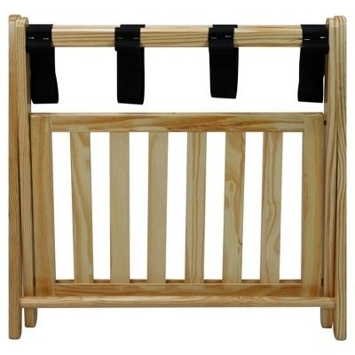 Luggage Rack Target Alluring Luggage Rack With Shelf  Natural  Flora Home  Luggage Rack And Decorating Inspiration