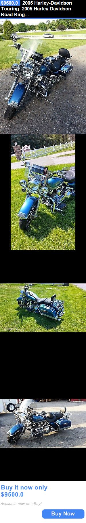 Motorcycles: 2005 Harley-Davidson Touring 2005 Harley Davidson Road King Custom BUY IT NOW ONLY: $9500.0