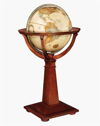 Logan Floor Stand World Globe. h1Logan Floor Stand World Globe_h1The Logan Floor Stand World Globe. Old world workmanship and whole world detail combine to make the antique ocean, raised relief Logan globe the focal point of the room. The 16 globe res.. . See More World Globes at http://www.ourgreatshop.com/World-Globes-C1121.aspx