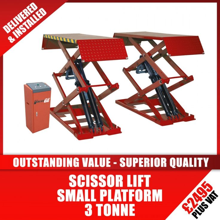 Tyre Equipment Direct - B30 – Small Platform Scissor Vehicle Lift