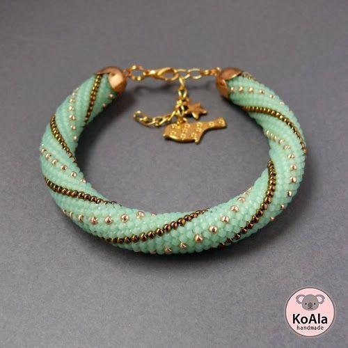 Alicja Kosarzewska - KoAla - biżuteria handmade: Wzory sznurów bead crochet