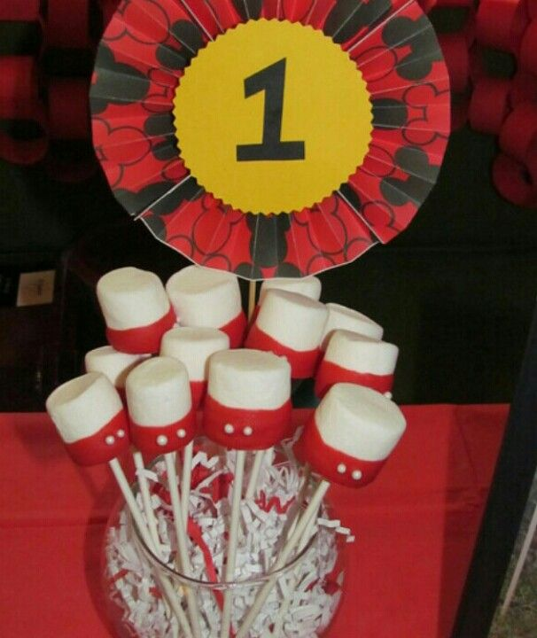 Mickey Marshmellow Pops