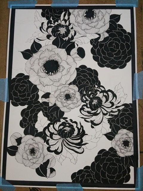 drawing black&white