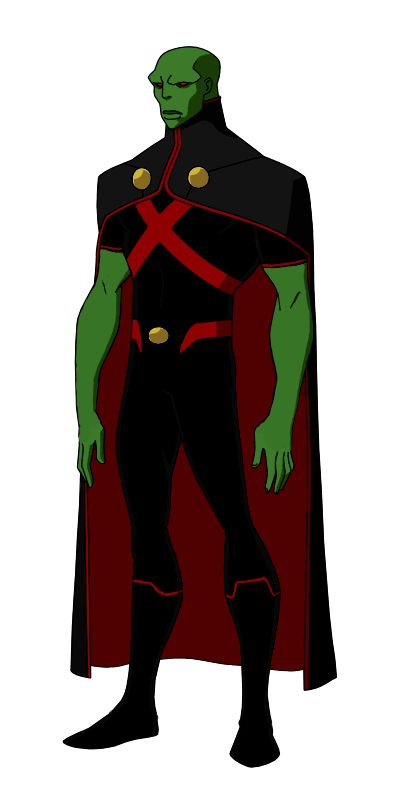DC:New Earth Martian Manhunter Animated by kyomusha.deviantart.com on @DeviantArt