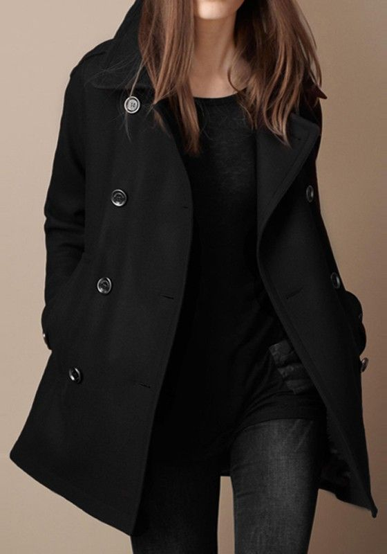 Best 25  Black trench coats ideas on Pinterest | Trench coat women ...