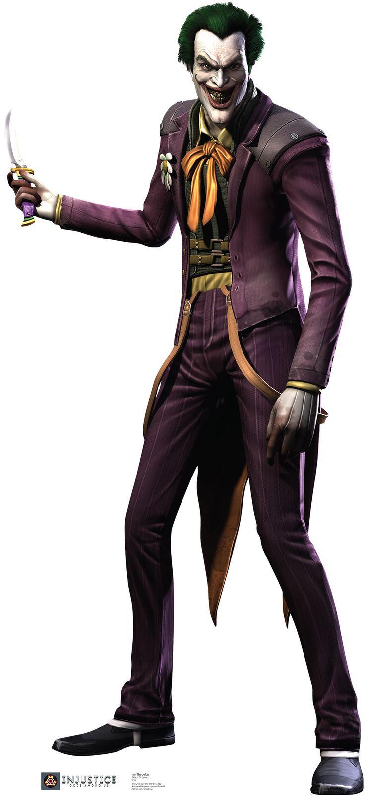 The Joker - Injustice DC Comics Game Cardboard Standup