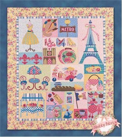 43 Best Paris Quilt Images On Pinterest Eiffel Tower