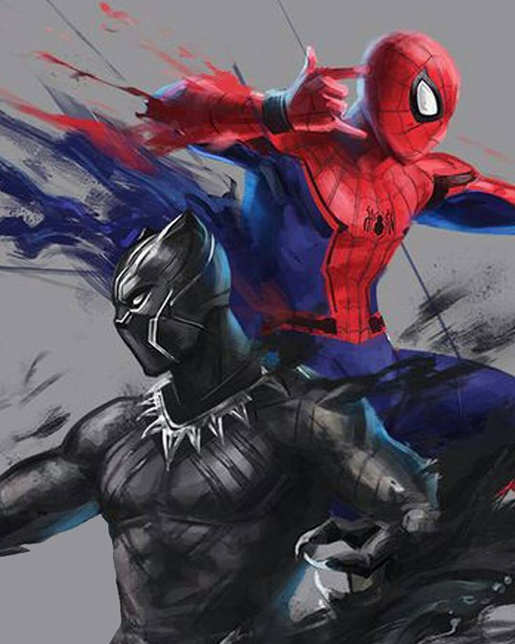 coooool! Spiderman and Black Panther the two new avengers