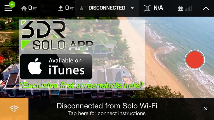 My first hand experience with the #3DR  #SoloApp Here: http://alcaudullo.com/3dr-solo-app-hits-itunes/