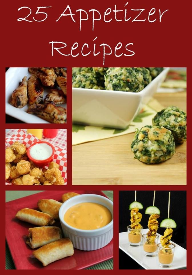 25 Appetizer Recipes Perfect For Any Get Together | http://just2sisters.com/25-appetizer-recipes-perfect-get-together/