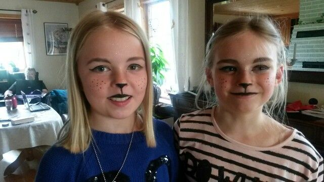 Kids face painting easy