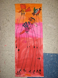1st grade Salvador Dali birds