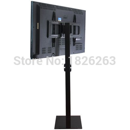 32-60 pulgadas Monitor de Plasma LCD LED TV de Montaje En Soporte de Suelo de Visualización de ANUNCIOS de Inclinación Del Eslabón Giratorio