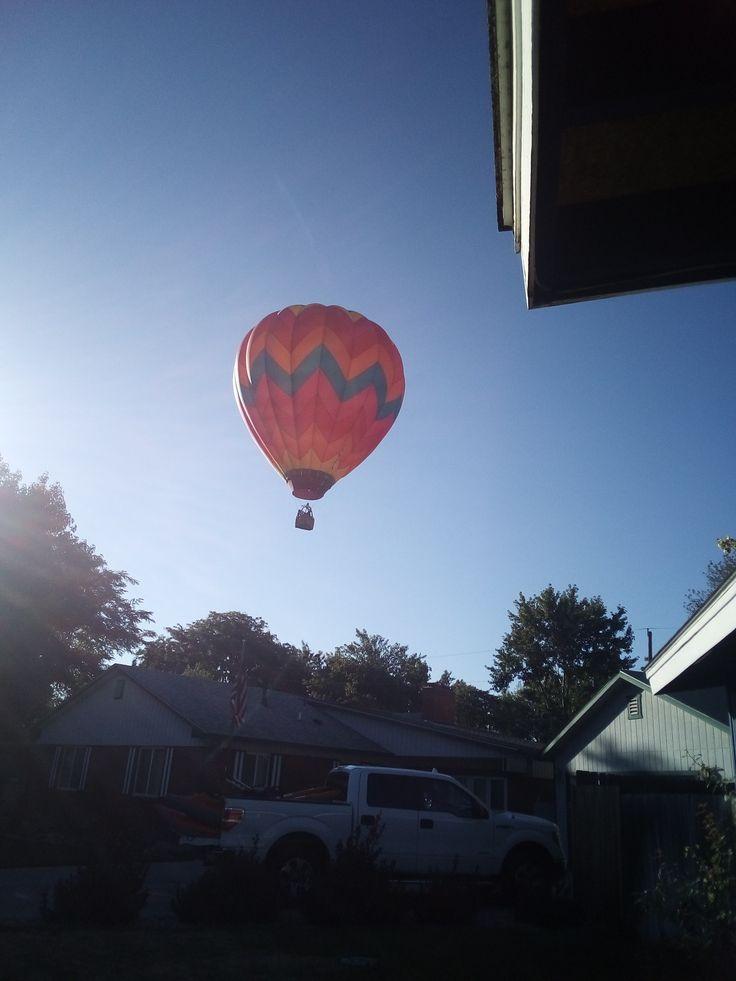 Hot air balloon! Spirit of boise hot air balloon festival