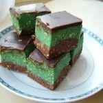 Shrek szelet recept fotó