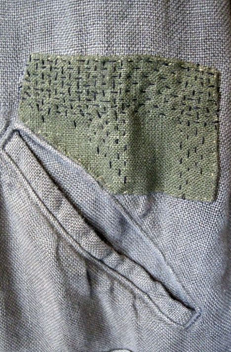 """Extreme mending     The traditional Japanese approach to mending called """"boro"""" (which literally translates to """"rags"""" or """"scraps of clo..."""