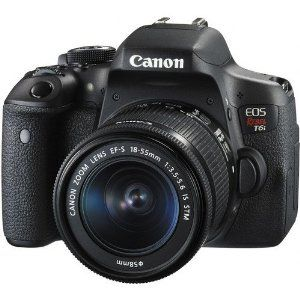Amazon.com : Canon EOS Rebel T6i DSLR Camera with EF-S 18-55mm f/3.5-5.6 IS STM Lens - International Version (No warranty) : Camera & Photo