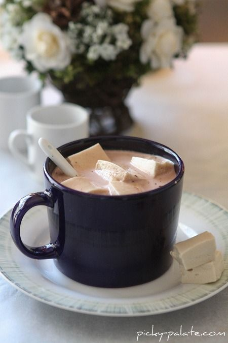 hot chocolate with maple marshmallows marshmallows picky maple ...