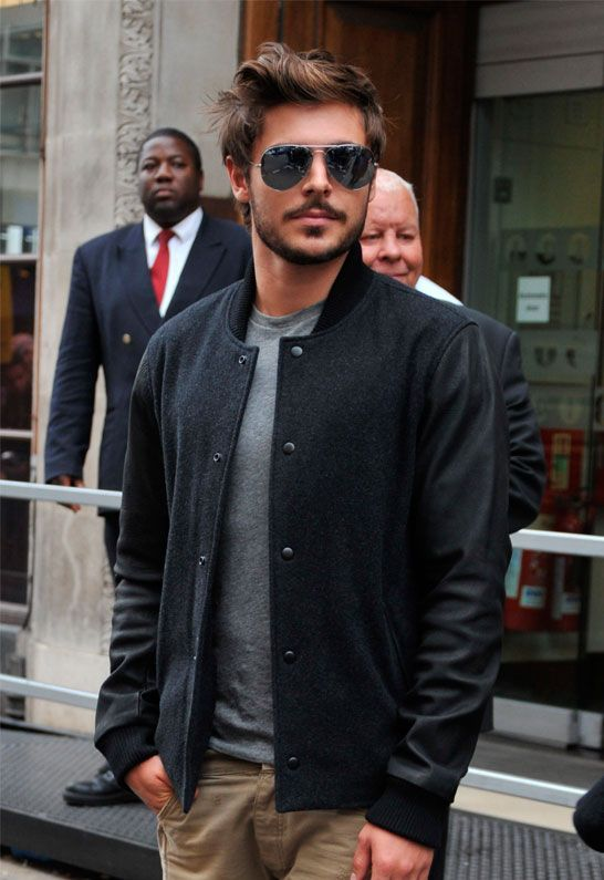 Zac--The Lucky One--You cannot watch that movie without being attracted to him!  TRUE!