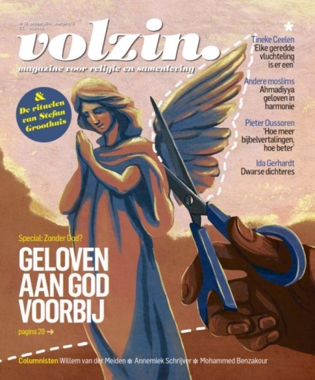 Volzin is een magazine voor moderne zinzoekers die vanuit een open en nieuwsgierige houding op zoek zijn naar inspiratie en tegelijkertijd benieuwd zijn naar de bron van waaruit anderen leven. Het is voor mensen die denken, voelen en handelen met elkaar willen verbinden.