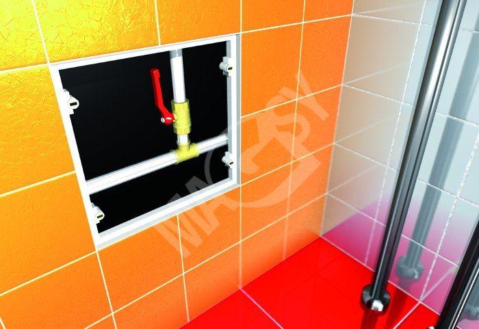 Mágneses fürdőkádajtó