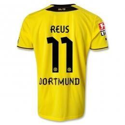 13-14 Borussia Dortmund #11 REUS Home Jersey Shirt