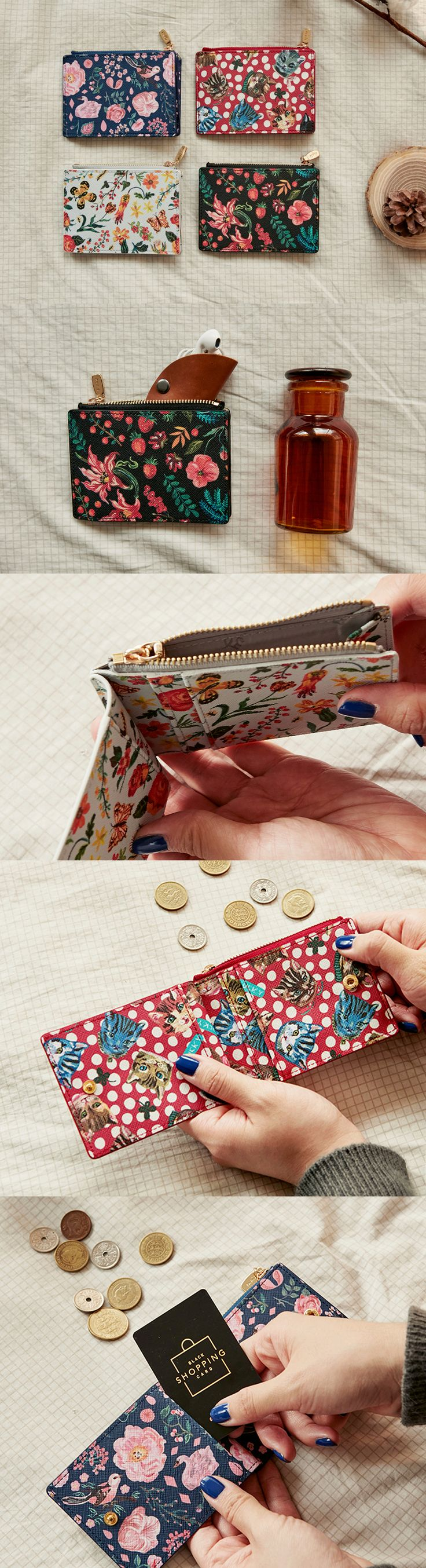 Nathalie Lete Slim Wallet