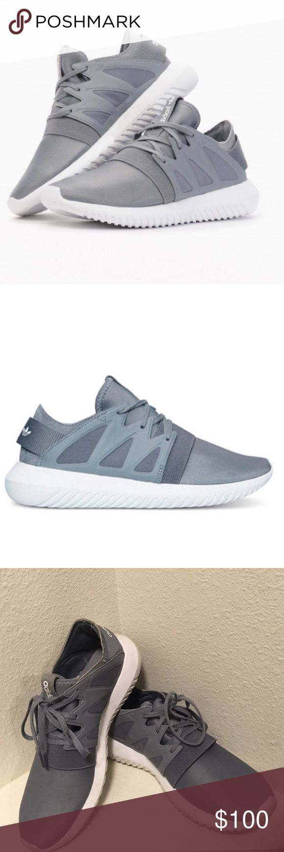 e4a3a1eeb95fe Adidas Tubular Viral Rare and sold out online! Gently used condition 👌🏼  Adidas Shoes Sneakers