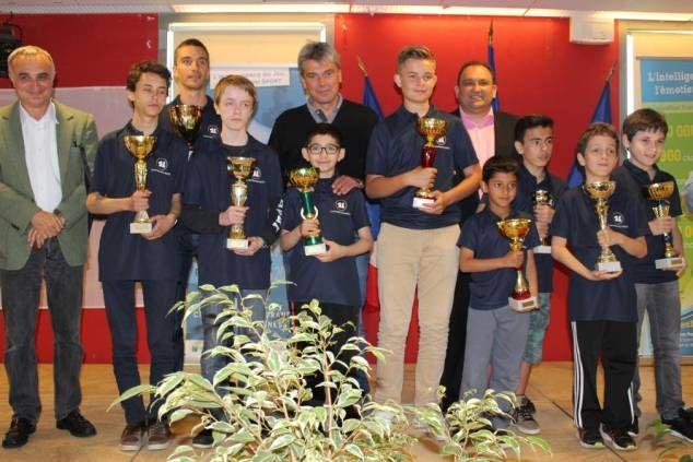 Dieppe : c'est Cannes qui a remporté le top jeunes d'échecs - paris-normandie.fr