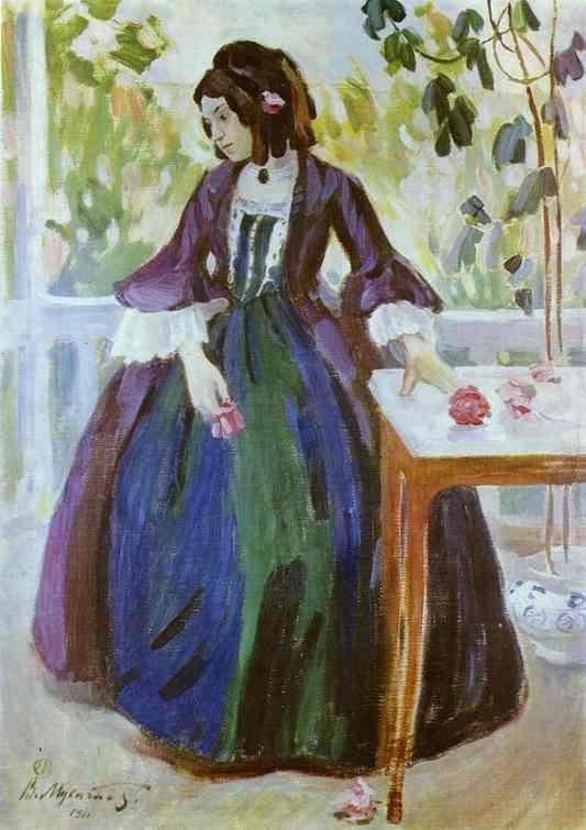 Autumn Mood 1901, Musatov Victor Borisov