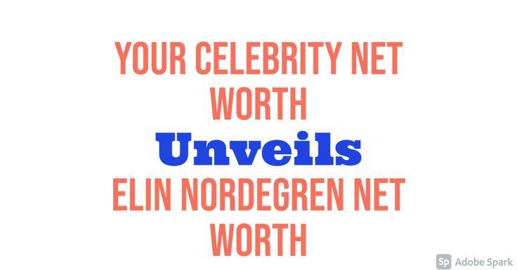 Elin Nordegren Net Worth   Net worth, Worth, Net
