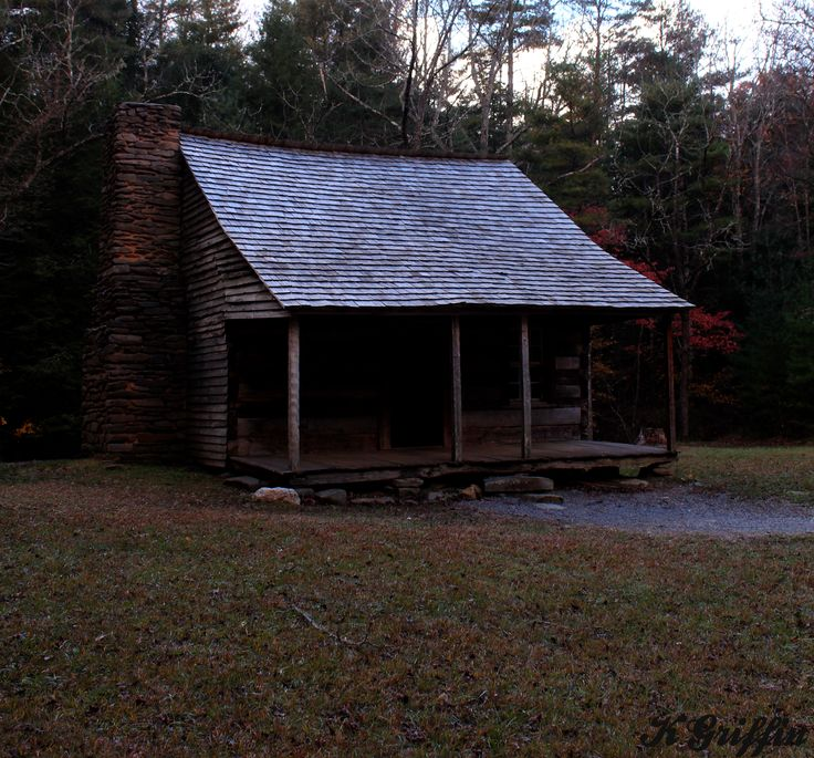 Carter Shields cabin in Cades Cove 11/2/13