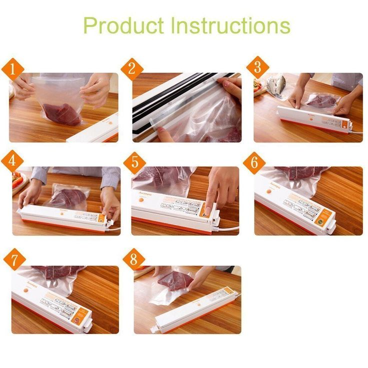 Dax Hub Mini Vacuum Sealing Automatic Small Home Vacuum Sealing Machine For  Food Packaging Food Sealer Sealer Magnet Bag Heat Set Thin Kitchen Machine  Shop ...