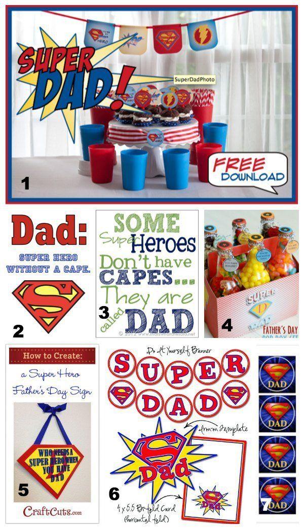 5 Ways To Celebrate A Super Dad http://www.thesuburbanmom.com/2013/06/05/5-ways-to-celebrate-a-super-dad/