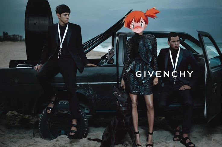 Pokémons everywhere & fashionDaily Fashion, Givenchy, Ads Campaigns, Spring Summer, Mert Marcus, Fashion Ads, Ad Campaigns, Gisele Bundchen, Fashion Campaigns