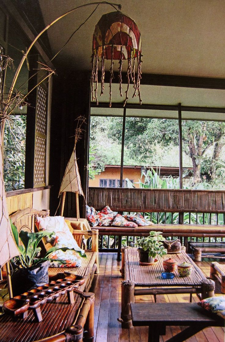 434 best images about philippine ancestral homes on for Nipa hut interior designs