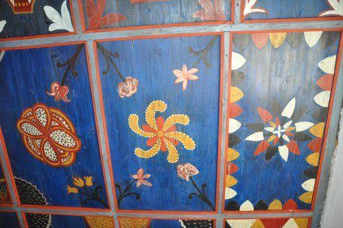 Reformatus.hu | 180 éve készült el a füzéri templom festett kazettás mennyezete