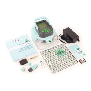 Slice Elite    Making Memories Slice  is a portable die cut machine that will cut, draws and emboss all you scrapbooking projects.  This Slice Design Elite can run cordless, making it easy to work with in any room, even outdoors.