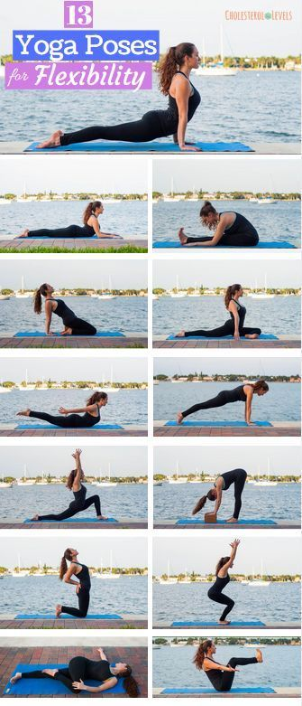 Yoga Poses for Flexibility. Improve your flexibility with these 13 yoga moves| y...