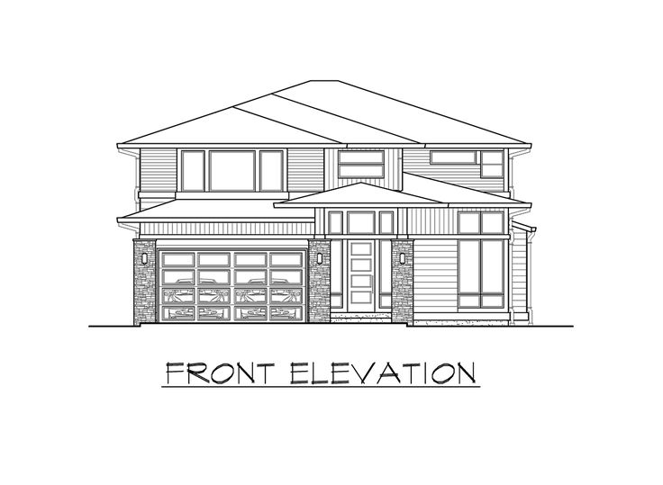 Plan 23607JD: Big and Bright Prairie Style House Plan