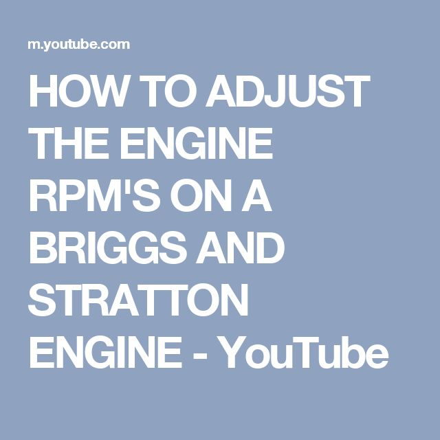The 50+ best B & S engines images on Pinterest | Tools, Engine ...