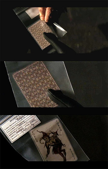 Batman Begins Joker Card Batman Begins - Joker ...
