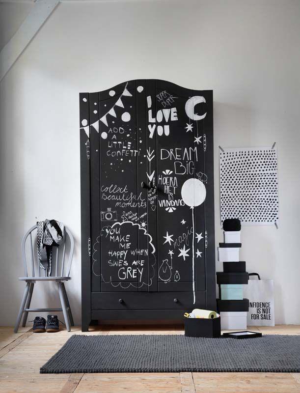 ... Slaapkamer ideeën op Pinterest - Gordijn roeden, Wandplaten en Deuren
