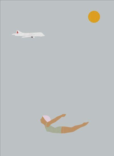 aeroplane by Sandy Mitchell
